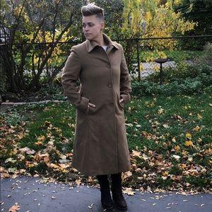 VTG 3/4 length wool and cashmere jacket